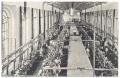 Békéscsaba, Békési út 1920-30 - selyemfonoda, selyemszövő gyár, belső kép, Merkur Szövőgyár