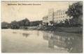 Békéscsaba, Első Békéscsabai Gőzmalom 1914 - Rosenthal, Körös-part, fa vasúti híd (ff)