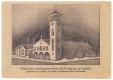 Békéscsaba, jaminai templom és rendház 1950 - 2 soros szöveggel