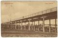 Békéscsaba, Jamina, vasúti átjáróhíd 1918 - gyalogos és gépjármű híd - 595. képeslap