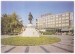 Békéscsaba, Kossuth tér 1980 - Kossuth szobor, Körös Hotel