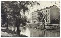 Békéscsaba, Körös-part 1957 - Derkovits sor 15-16. (a 14. számú ház még nem épült fel)