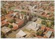 Békéscsaba, légifotó 1975 - belváros