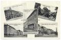 Békéscsaba, osztott lap 1933 - új városi bérpalota, katolikus bérpalota, kereskedők háza