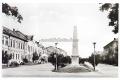 Békéscsaba, Szabadság tér 1964 - Róna-ház, zeneiskola, Fegyveres Erők Klubja (FEK), Láng-ház, Fábry-ház,101-es emlékmű, pártház