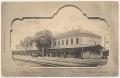 Békéscsaba, vasútállomás 1901 - sínek, hajtány