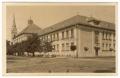 Békéscsaba, Deák utca 1930 -  Vízmű iskola, Lórántffy Zsuzsanna leánylíceum (leánygimnázium)