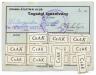 Békéscsaba, Csabai Atlétikai Klub (CsAK) 1942 - tagsági igazolvány