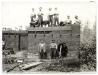 Békéscsaba, családi ház építése 1960. május 19. (eredeti fotó)