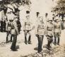 Békéscsaba, Főtér 1920 március - József főherceg, Magyar Királyi Honvédség tisztjei (zsebhajtóka, Bocskai sapka)