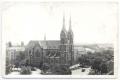 Békéscsaba, Kossuth tér, katolikus templom 1970-80 - Star és Ifa teherautók  (eredeti fotó)