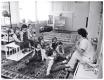 Békéscsaba, Lencsési lakótelep 1977 - új bölcsőde (eredeti fotó)