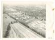Békéscsaba, Lencsési lakótelep 1974 - KISZ lakótelep, épülő panelházak (eredeti légifotó)