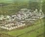 Békéscsaba, Lencsési lakótelep 1980 - ABC, óvoda, iskolák, rendelők, légifotó