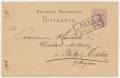 Békéscsaba, levelezőlap 1876 - Németország, Gera