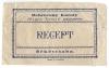 Békéscsaba, Magyar Korona Gyógyszertár 1920-30 - Debreceny Károly, recept