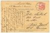Békéscsabáról New Yorkba postázott levelezőlap 1933